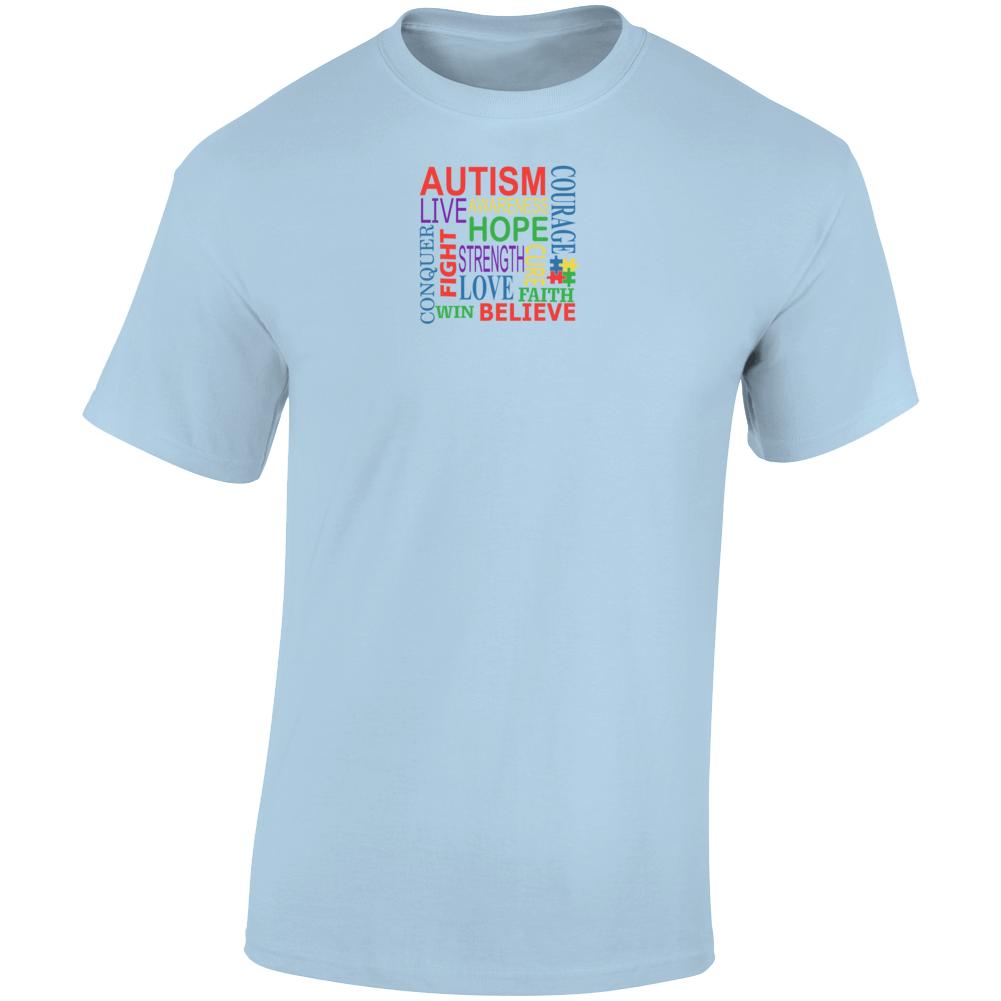 Autism Awareness 2 T Shirt