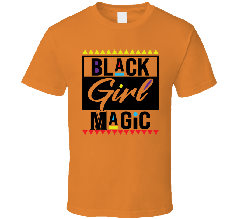 Black Girl Magic 3 Faith Blessed Boss Entrepreneur Teacher Student Education God Jesus Lord Church Bible Inspirational Motivational Christian Religious Hustle Pop Culture Gift TShirt