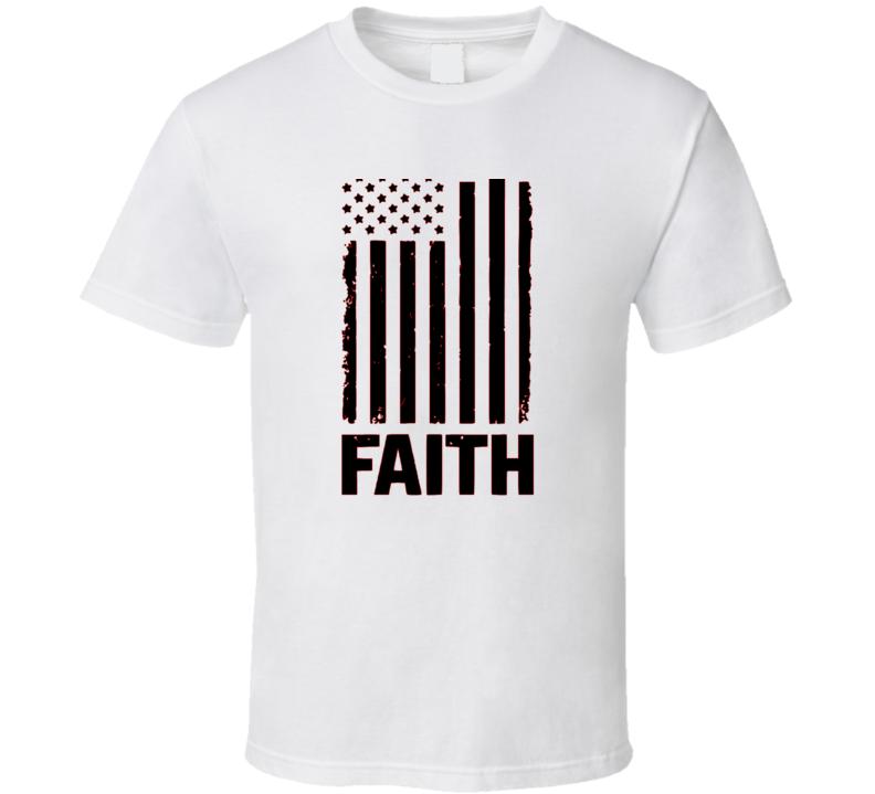Faith Cross Flag Blessed Boss Entrepreneur Teacher Student Education God Jesus Lord Church Bible Inspirational Motivational Christian Religious Pop Culture Gift TShirt