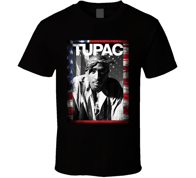 2Pac Flag To Live & Die In LA Blessed Boss Faith Entrepreneur Inspirational Motivational Pop Culture Hustle Gift TShirt