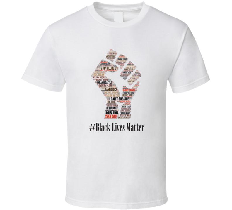 Black Lives Matter #13 All Lives Matter I Can't Breathe Faith Blessed Inspirational Motivational TShirt