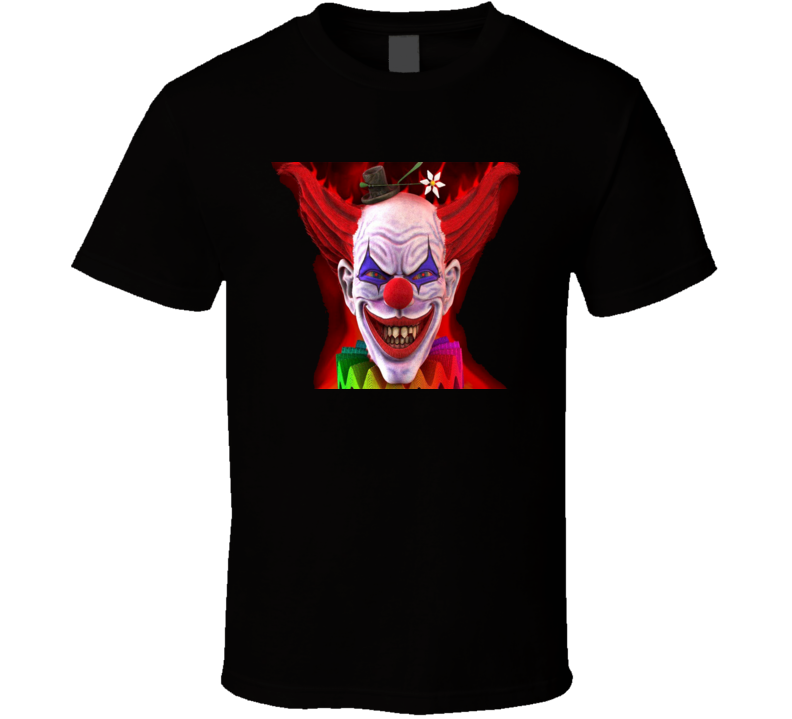 Evil Clown Scary T Shirt