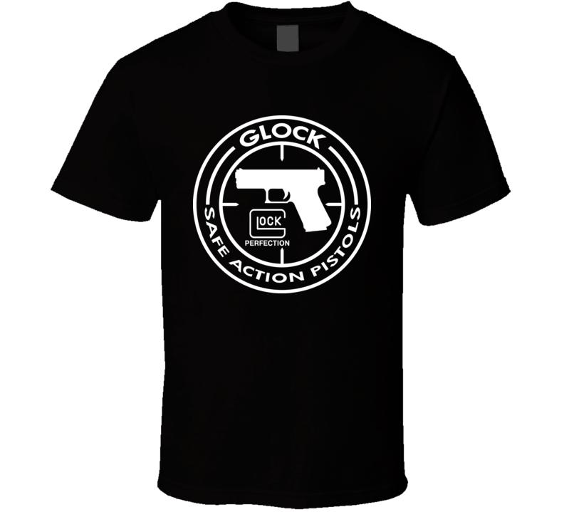 Glock Safe Pistols Logo T Shirt