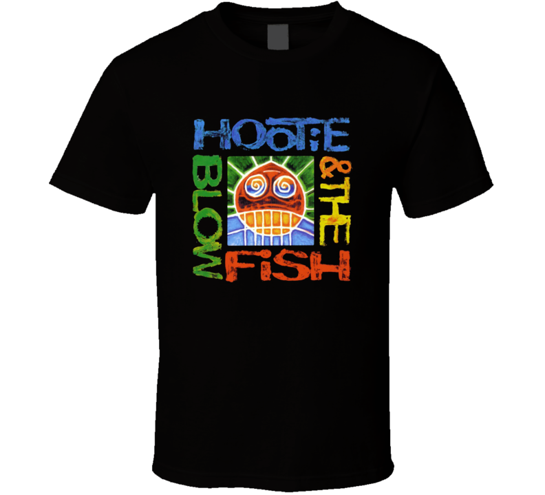 Hootie And The Blowfish Cracked Rear View T Shirt