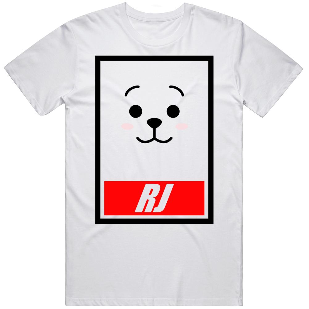Bt21 Rj Bts Logo E534 T Shirt