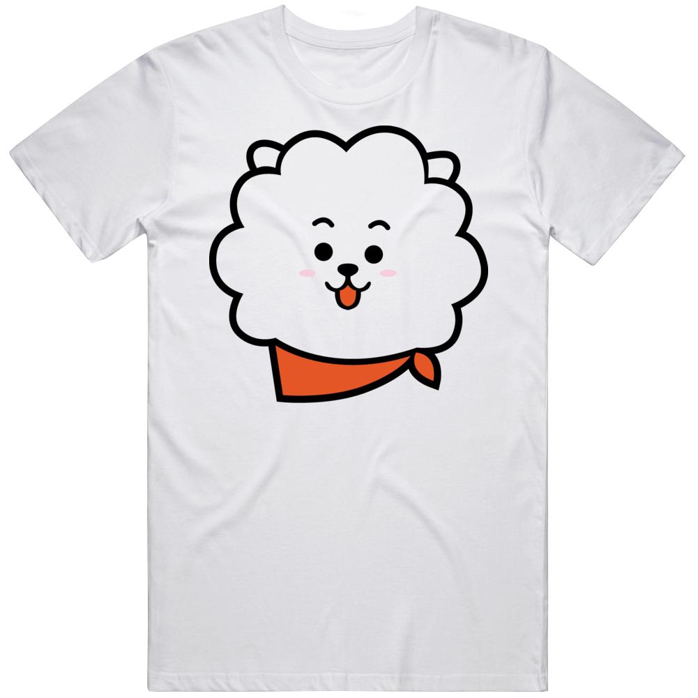 Bt21 Rj Bts Logo 91kr T Shirt