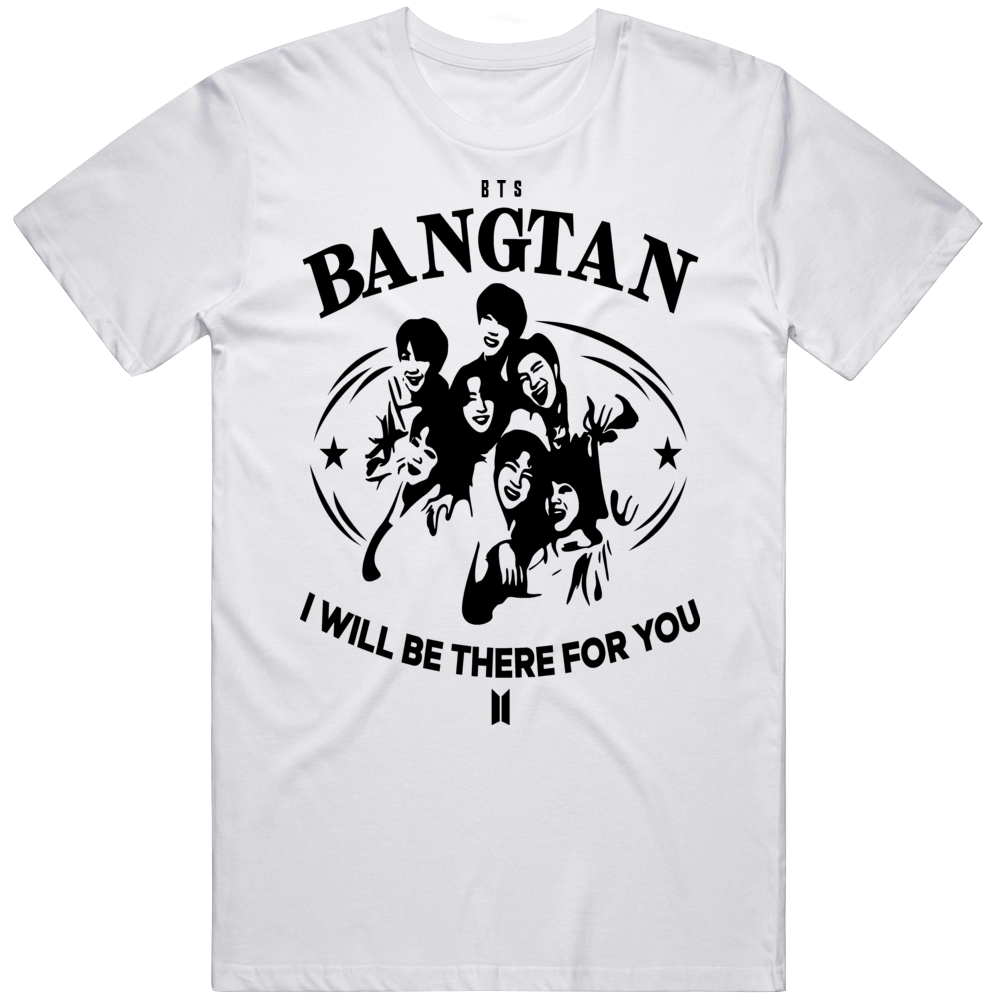 Bangtan I Will Be There For You Bts Logo T Shirt