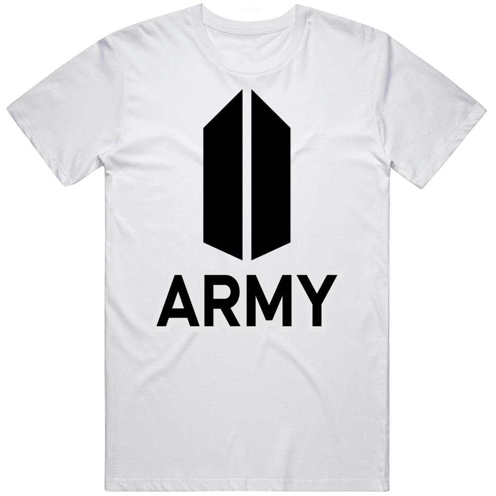 Bts Army Logo T Shirt