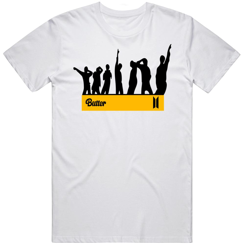 Bts Butter Logo T Shirt