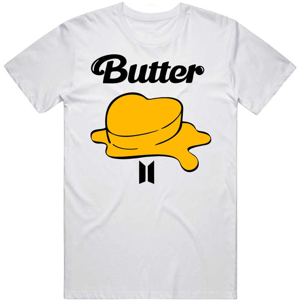 Bts Butter Logo 73plw T Shirt