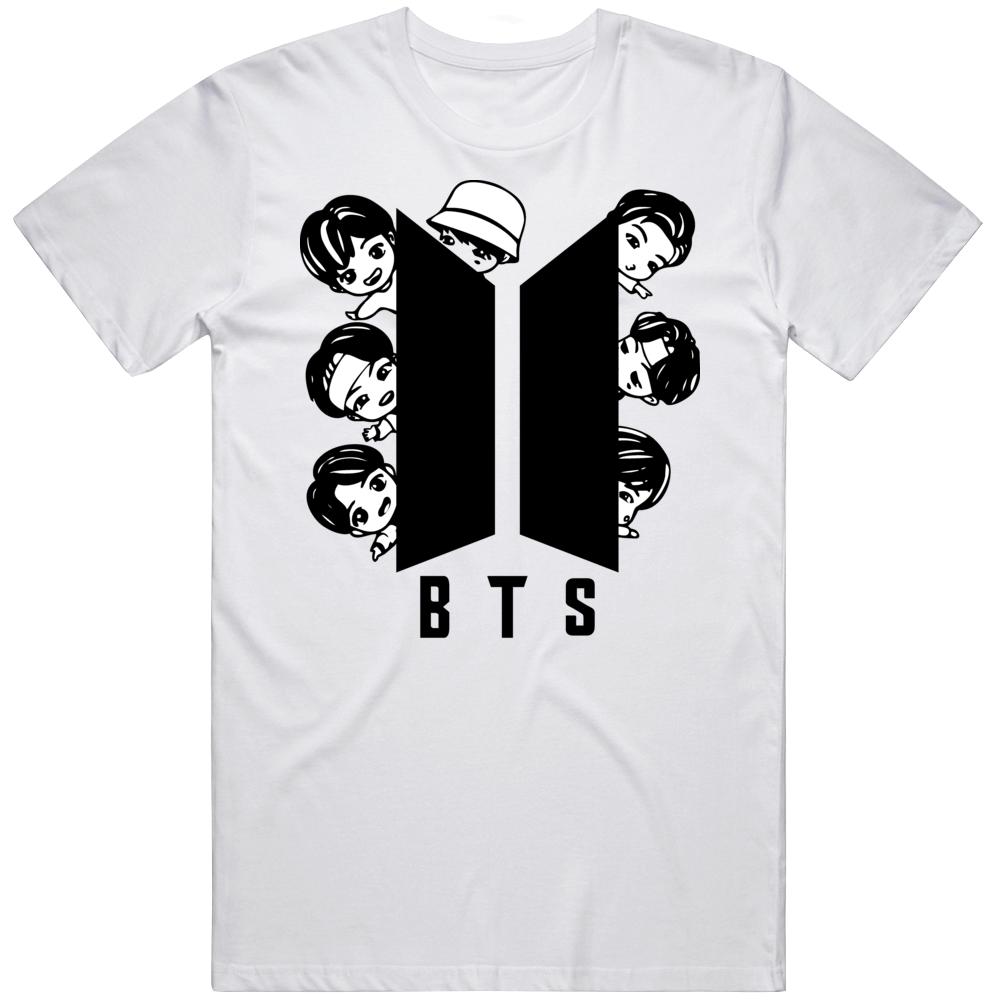 Bts Chibi Logo 84bj T Shirt