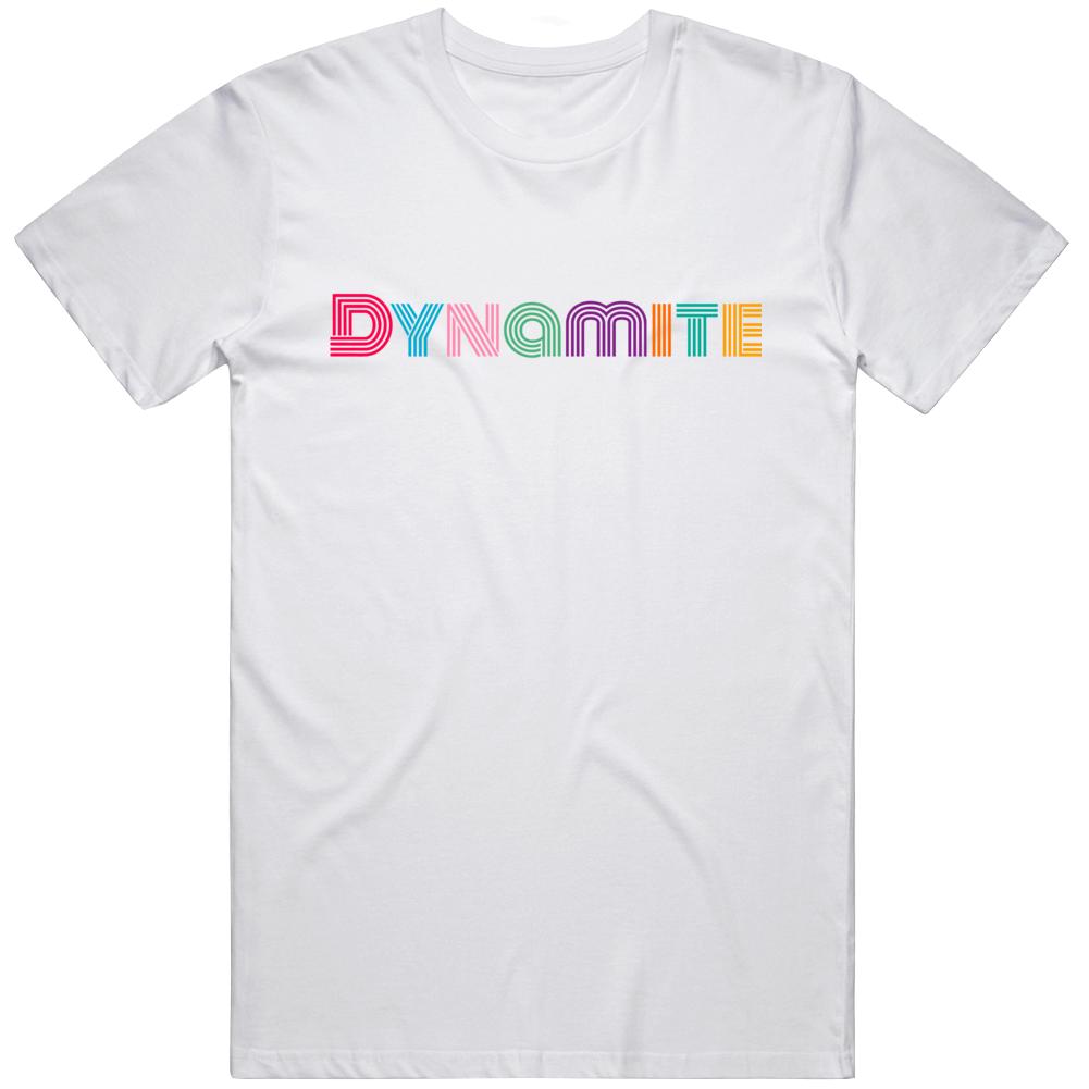 Bts Dynamite Logo T Shirt