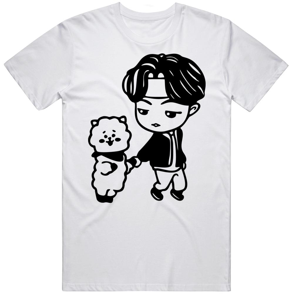 Bts Jin Logo 61qy T Shirt