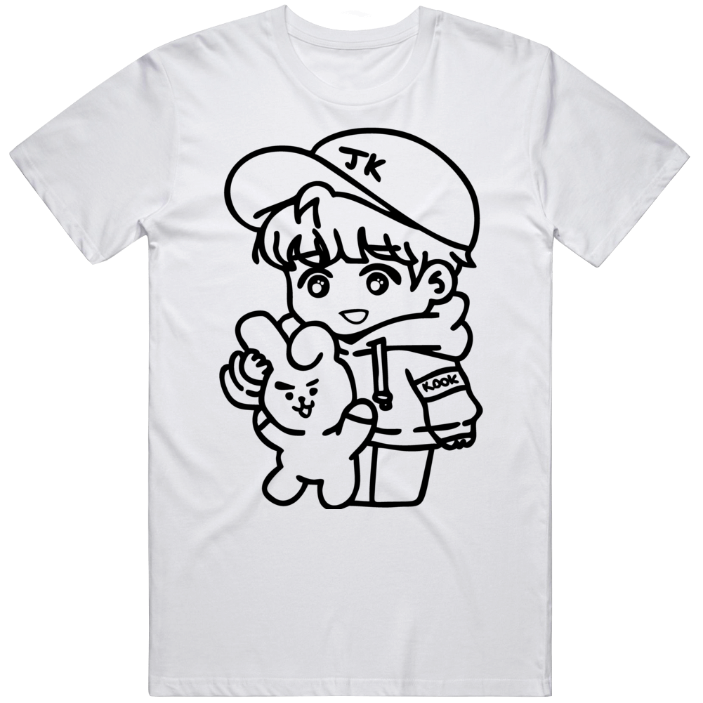 Bts Jk Logo Yt65 T Shirt