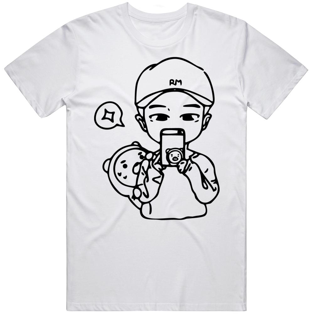 Bts Rm Logo 73lr T Shirt