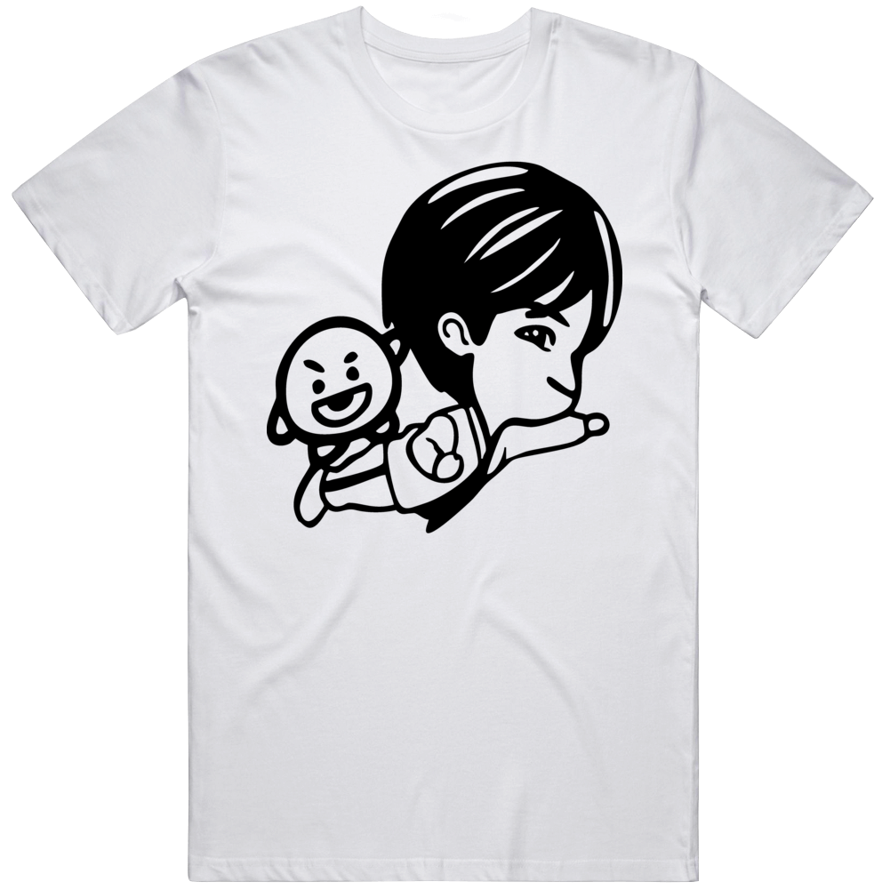 Bts Suga Logo 746og T Shirt