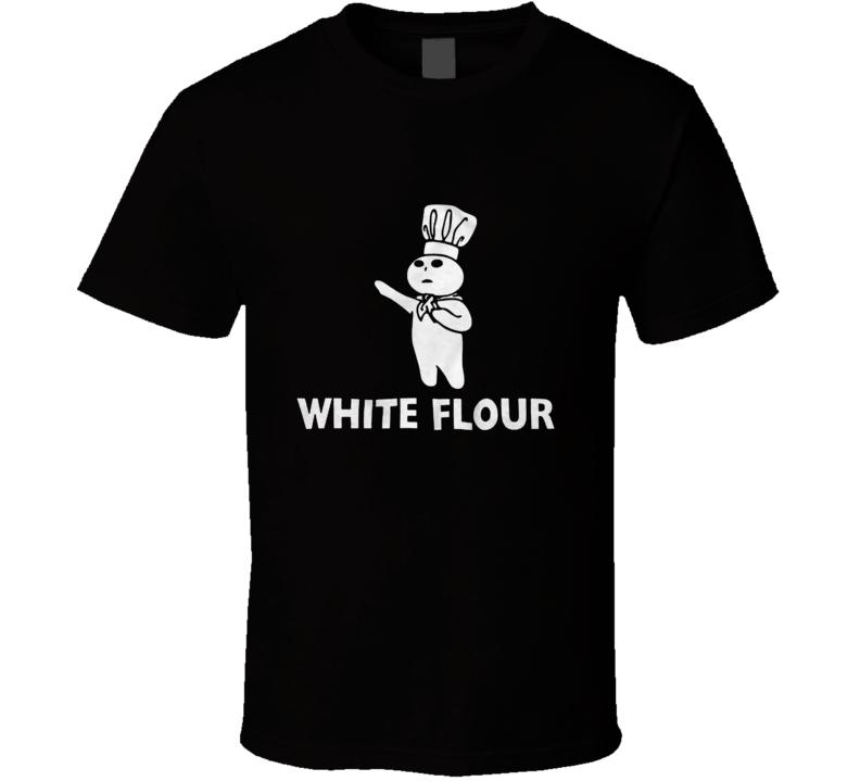 White Flour T Shirt