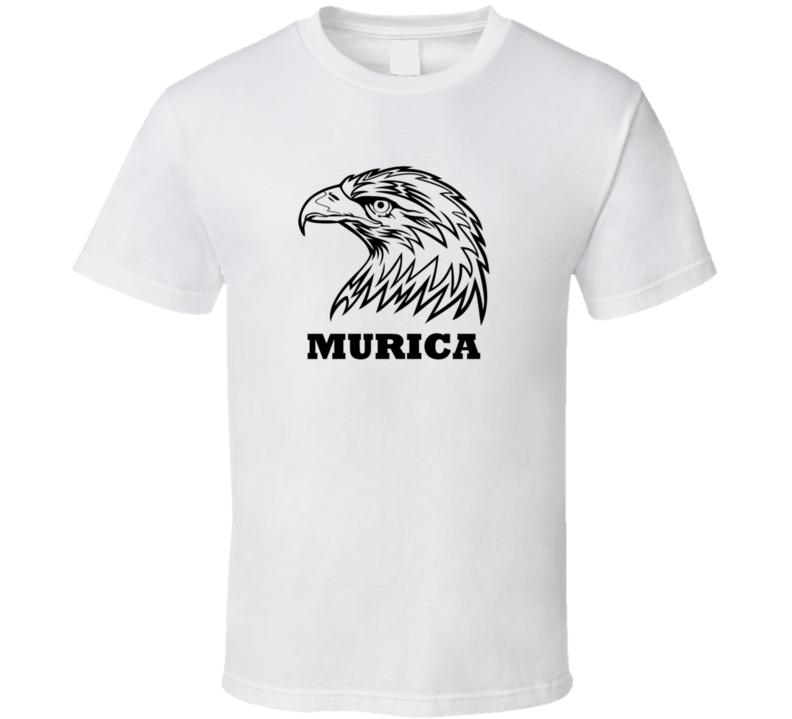 Murica Eagle Patriotic America T Shirt
