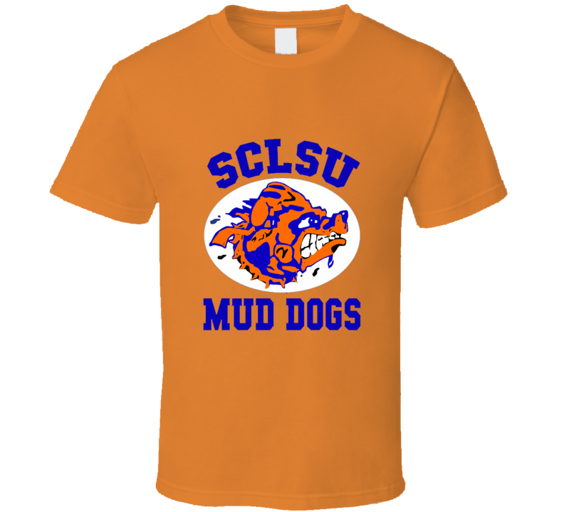 SCLSU Mud Dogs Waterboy Movie T-shirt