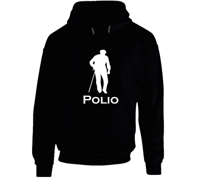 Funny Logo Parody Hoodie Polio