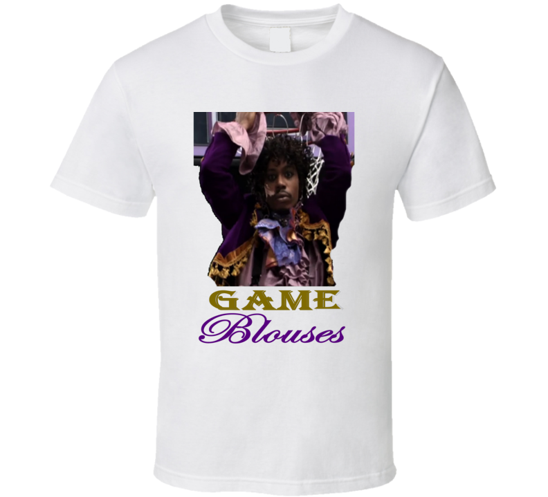 Game Blouses Prince Playing Basketball From Charlie Murphy's True Hollywood Stories T Shirt