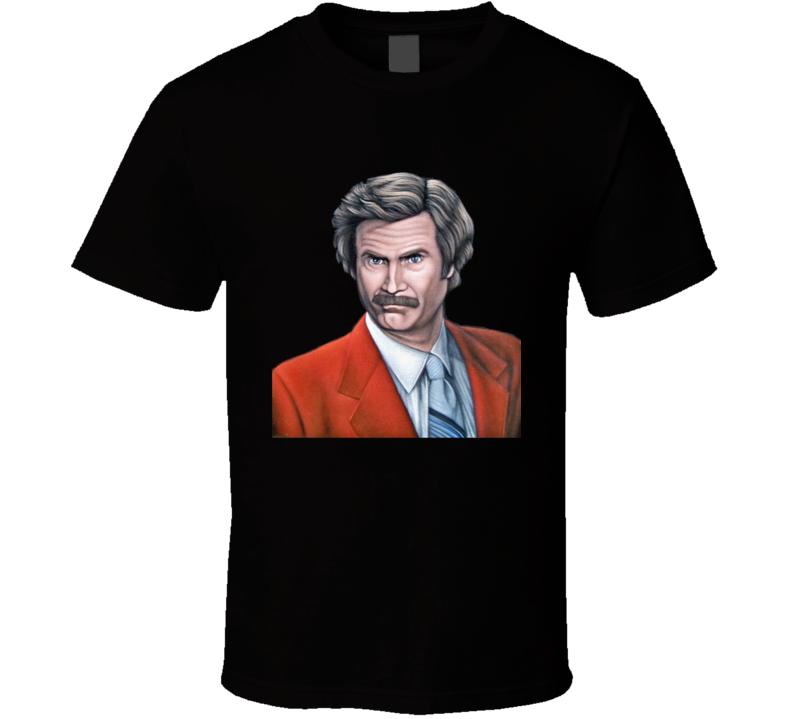 Ron Burgundy The Anchorman T Shirt