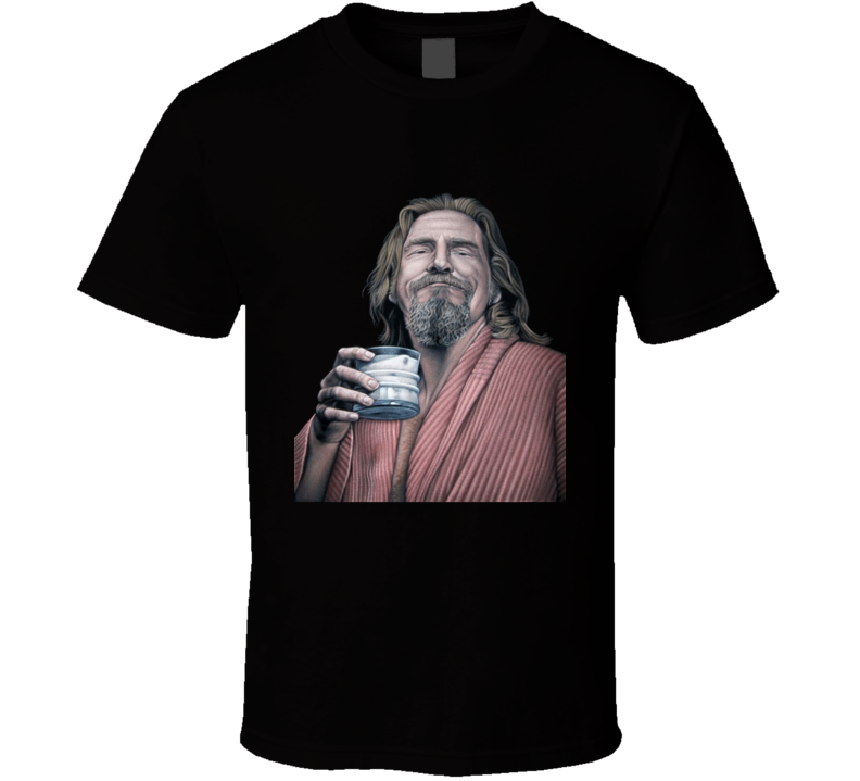 The Dude The Big Lebowski Movie T Shirt
