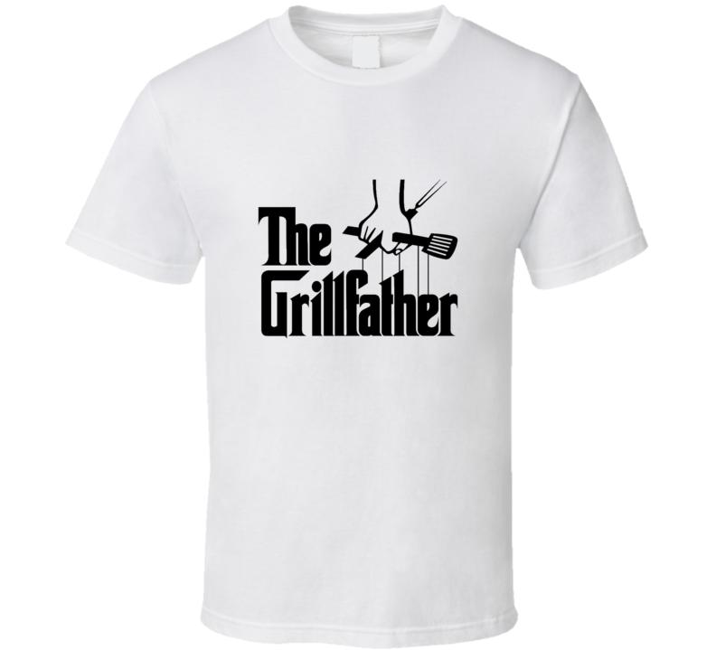 The Grillfather Godfather Movie Parody T-shirt