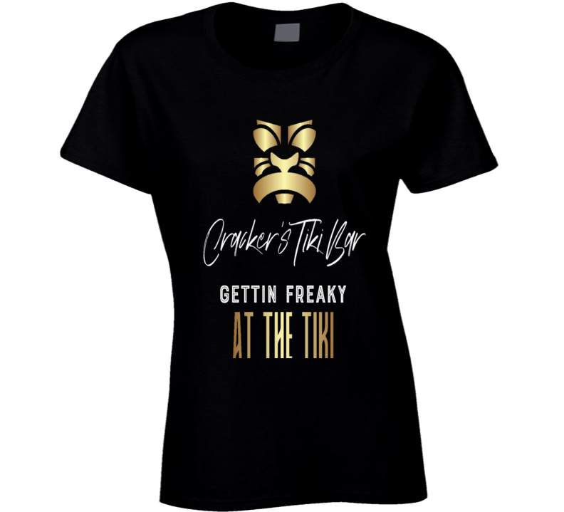 Crackers Tiki Bar Ladies T-shirt