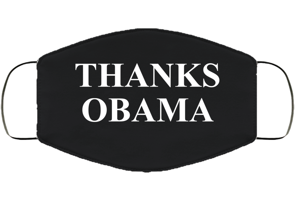 Thanks Obama Face Mask Cover