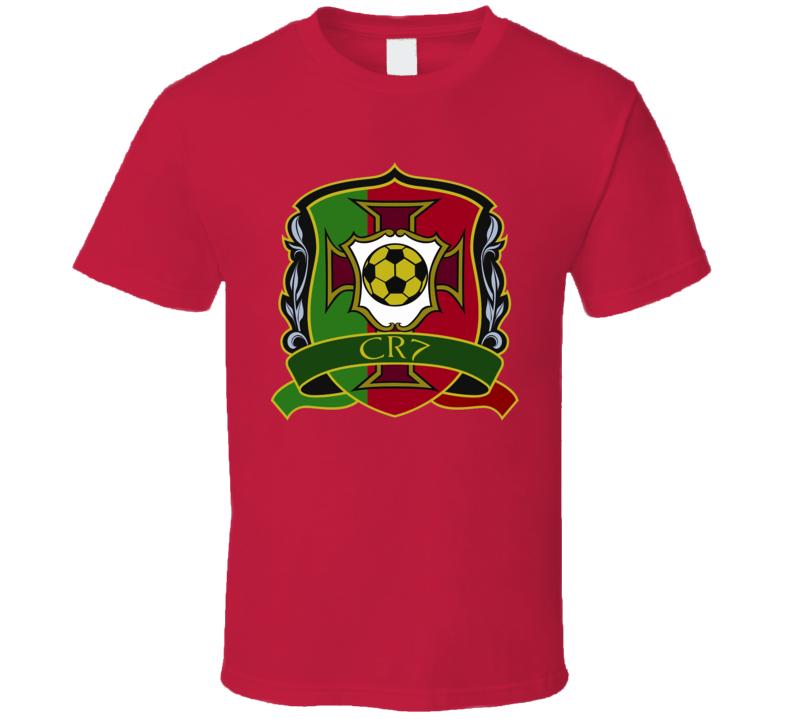 Christiano Ronaldo CR7 Portugal UEFA EURO 2016 T Shirt