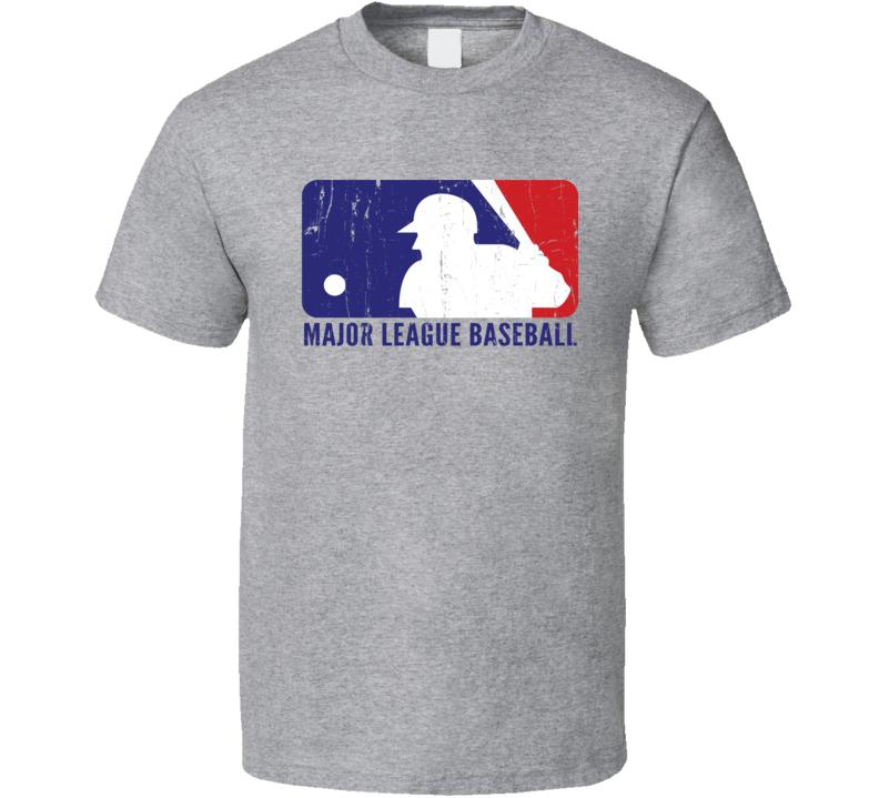 MLB Major League Baseball All Star Week Home Run Derby Worn Look T Shirt