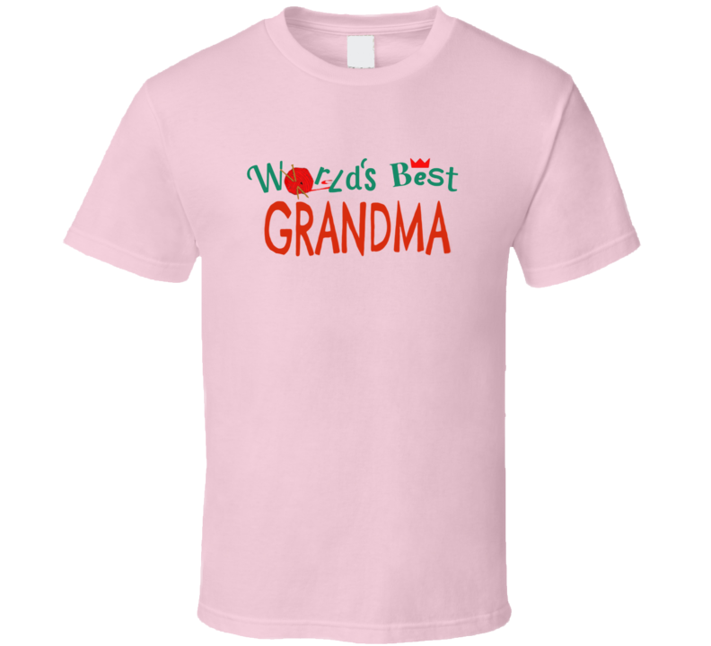 World's Best Grandma Funny Paper Towns Popular Movie Cool T Shirt