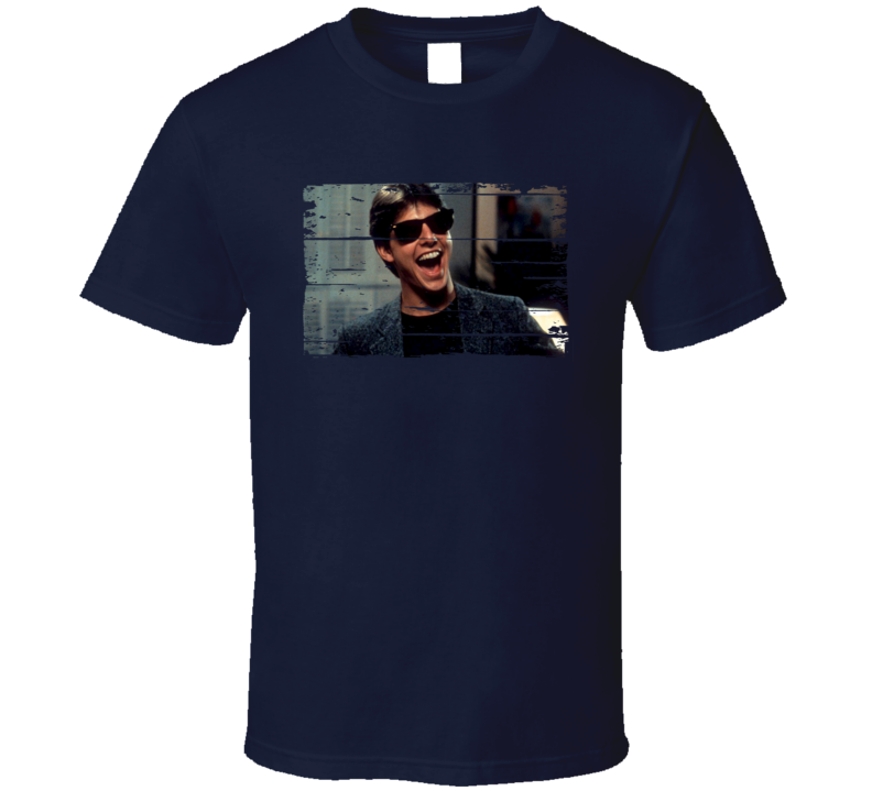 Joel Goodsen Risky Business Favorite Movie Character Worn Look T Shirt