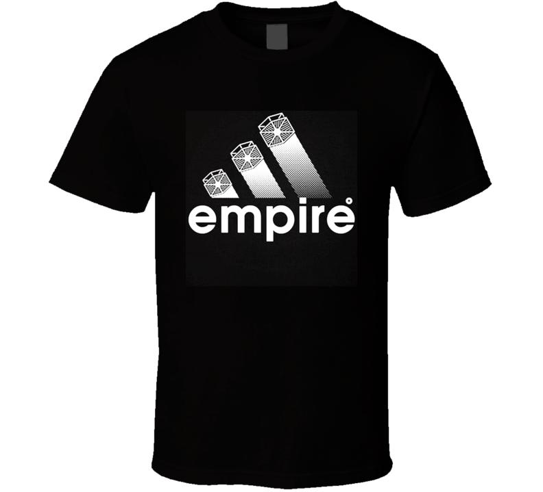 e890fdf3e0 Empire Funny Adidas Logo Star Wars Parody T Shirt