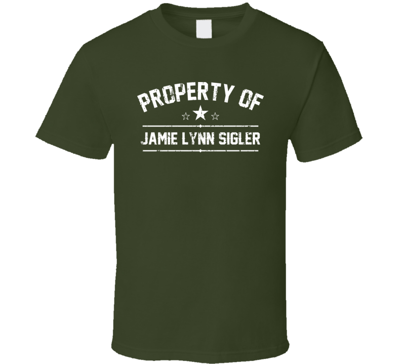 Property Of Jamie Lynn Sigler Cool Celebrity Actress Fan Funny T Shirt
