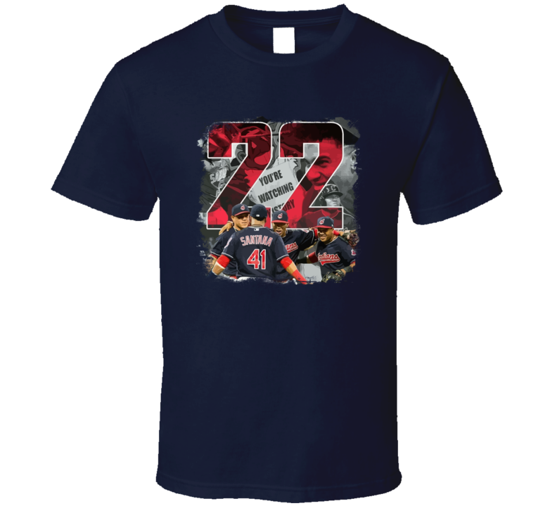 22 Win Record Cleveland Baseball Fan T Shirt