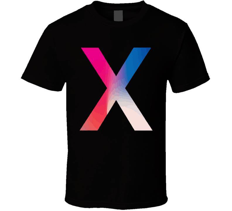 Iphone X Logo Apple Mac Fan T Shirt