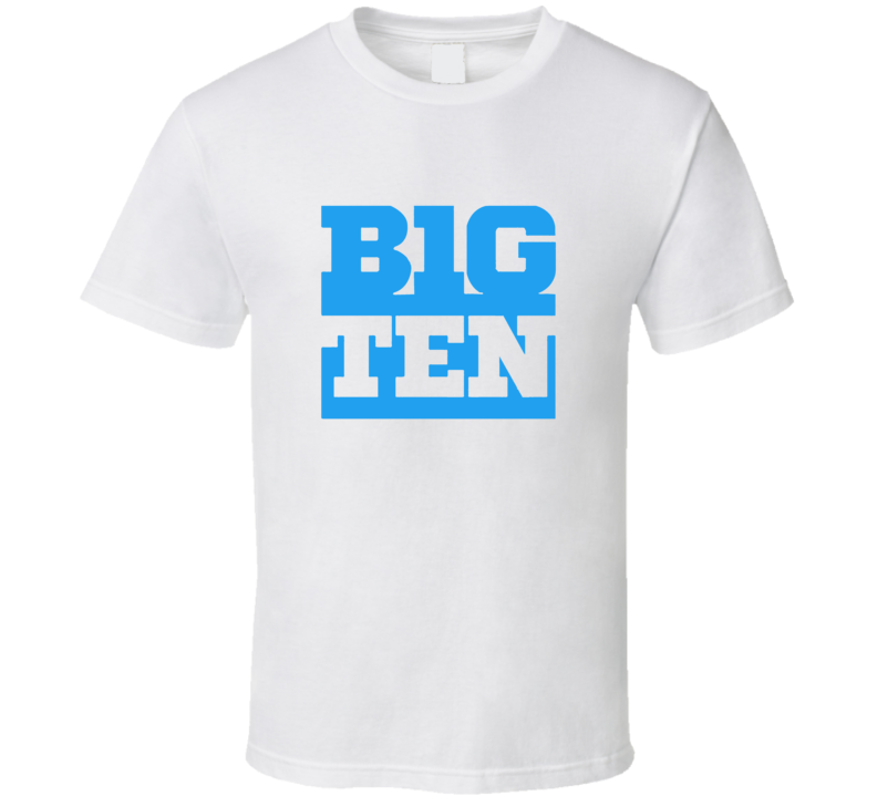 Big Ten Men's Basketball Conference Gift T Shirt