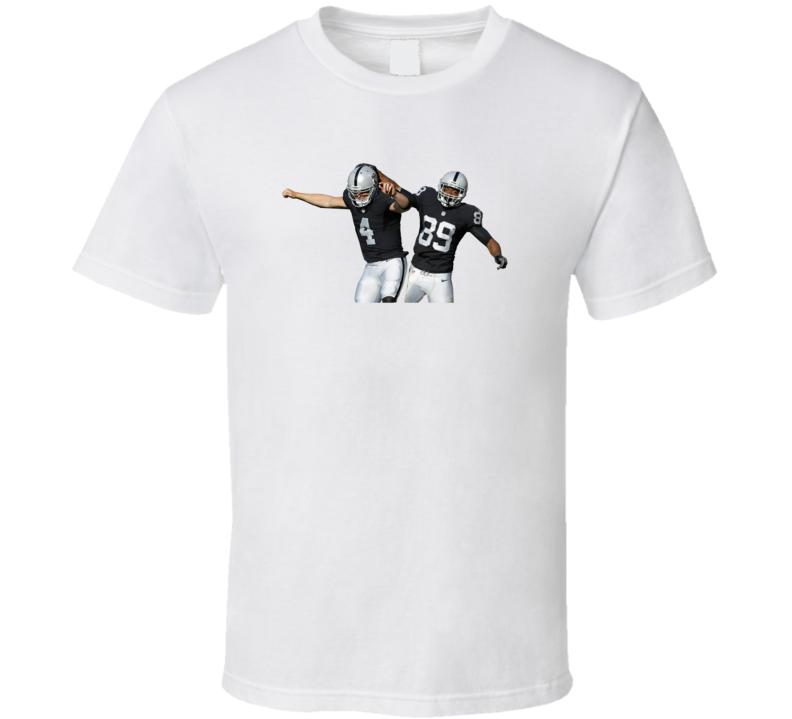 Derek Carr Amari Cooper MVP Oakland Football T Shirt
