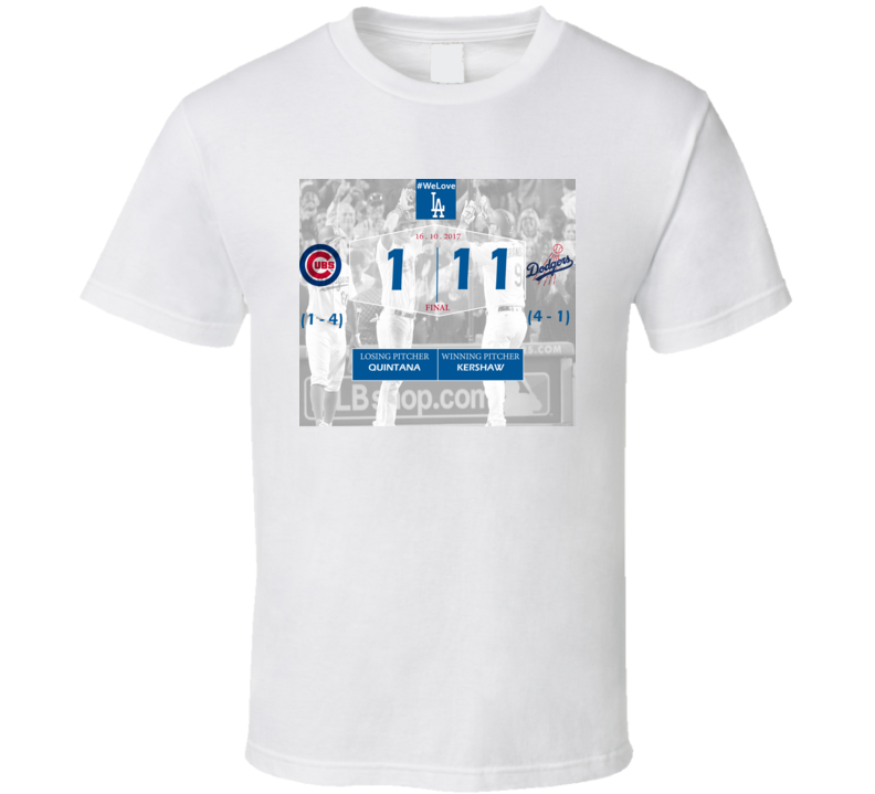 Chicago VS Los Angeles Baseball Fan T Shirt