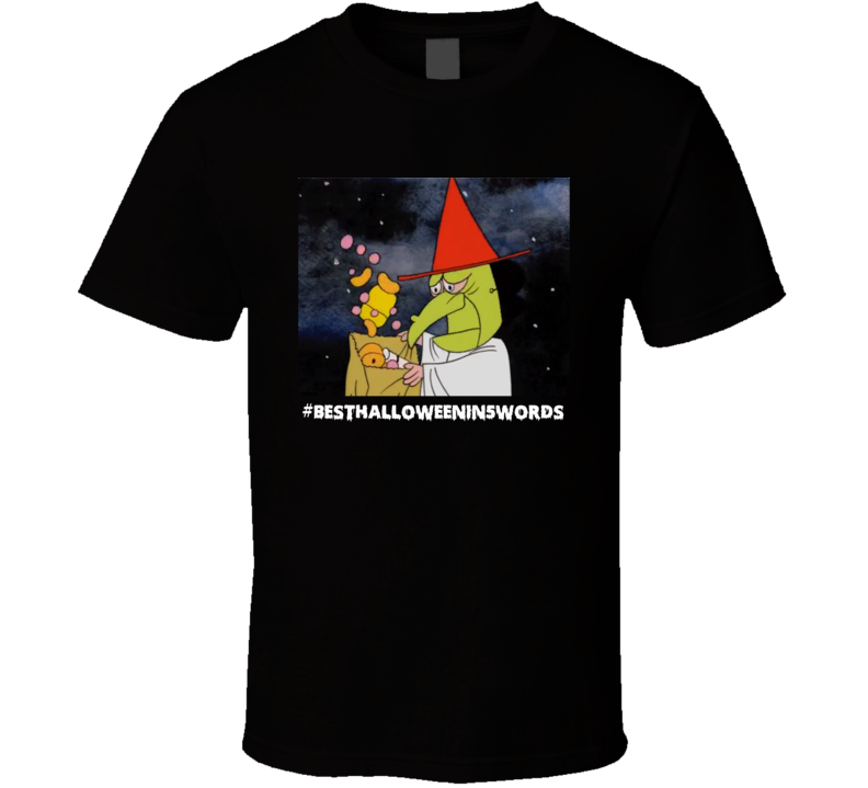 Best Halloween In 5 Words Charlie Brown Trick Or Treat Funny Gift T Shirt
