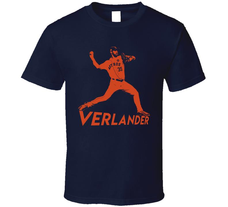 Justin Verlander Houston baseball Fan Gift Essential T Shirt