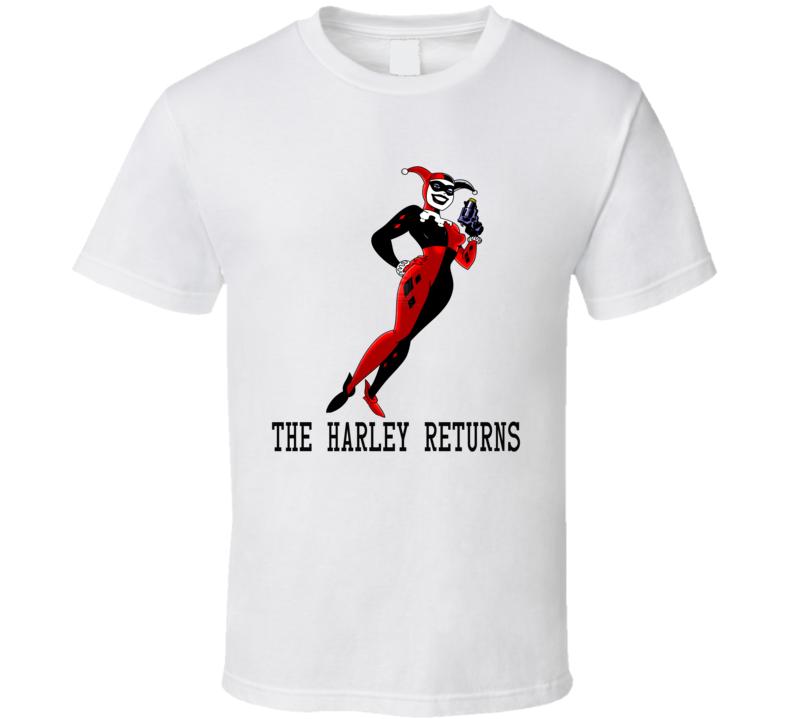 Classic Harley Quinn Returns DC Comic Fan Gift T Shirt