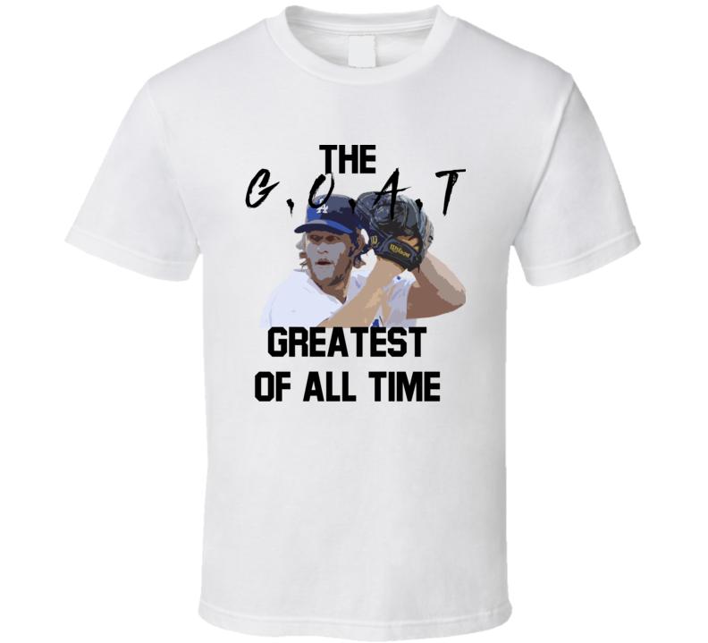 Clayton Kershaw Goat Los Angeles Baseball Fan Gift T Shirt
