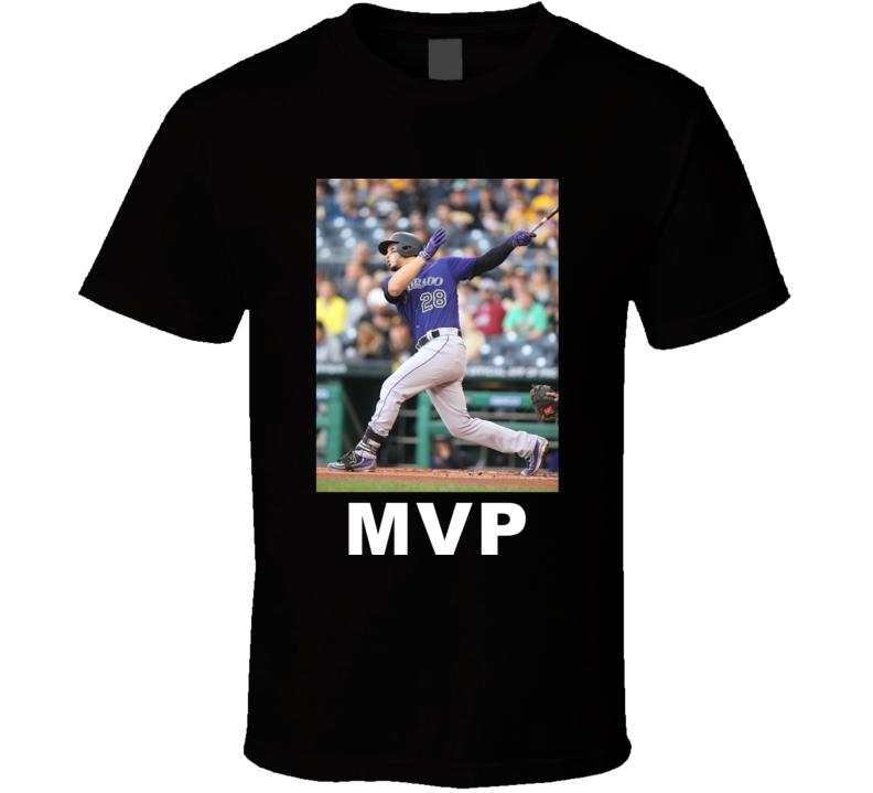 Nolan Arenado Colorado Baseball Fan Golden Glove Award Gift T Shirt