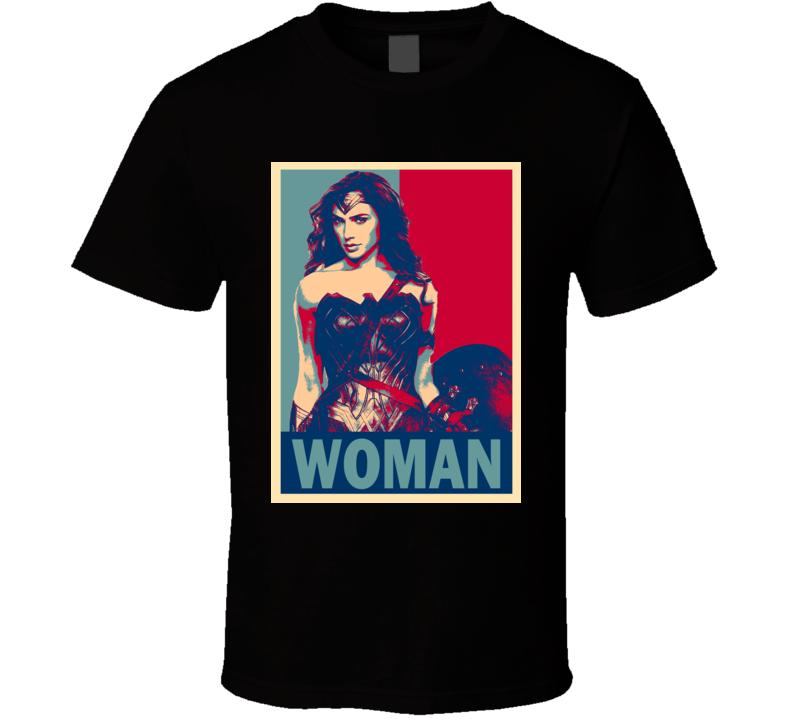 Gal Gadot Wonder Woman Movie Fan Gift T Shirt