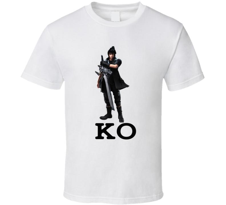 Tekken 7 Noctis Best Fighting Character Video Game Fan Gift T Shirt