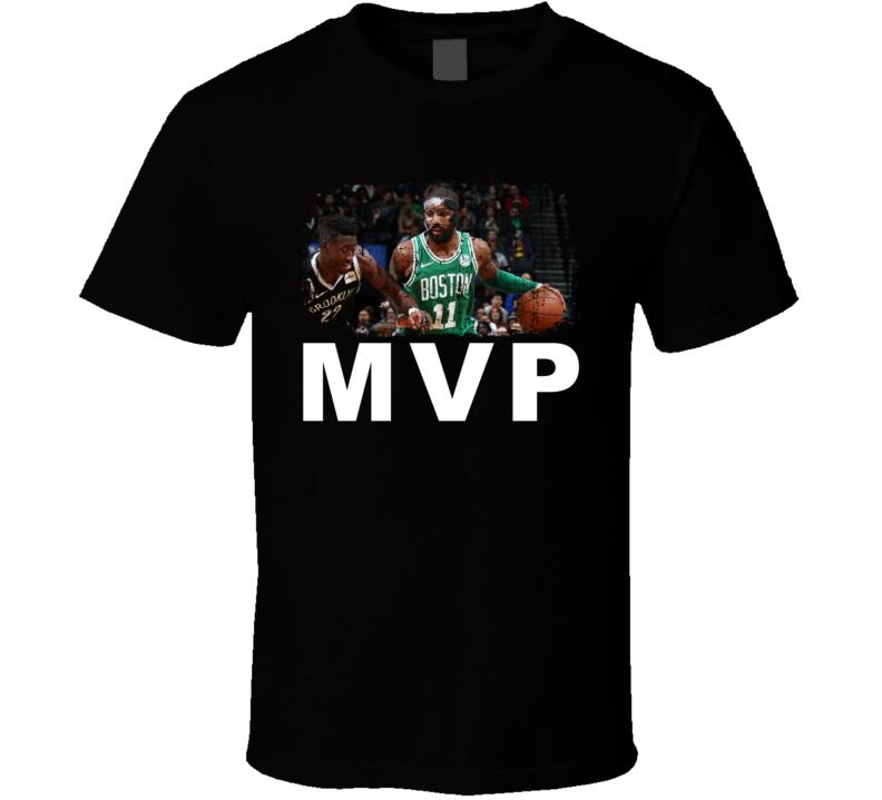 Kyrie Irvin Mask MVP Boston Basketball Fan Gift T Shirt