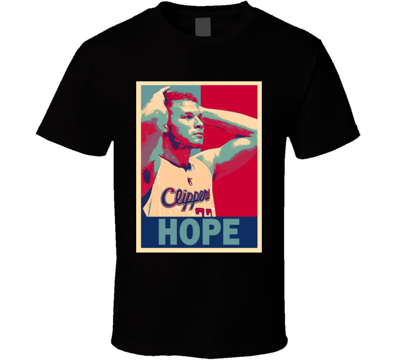 Blake Griffin Hope Los Angelos Clippers Basketball Gift T Shirt